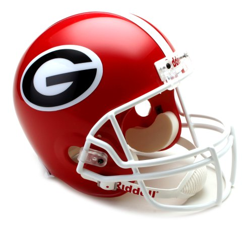 NCAA Georgia Bulldogs Deluxe Replica Football Helmet Bulldogs Deluxe Replica Helmet