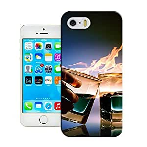 Cool specific Design iphone orange 5c Customizable Cocktail of glass Case Cover for Best is Gift for Men