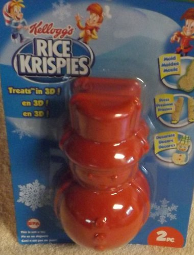 kelloggs-rice-krispies-mold-5-1-4-tall-christmas-snowman-treats-in-3d-pack-of-2