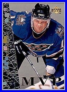 1996-97 Collector's Choice MVP #UD23 Peter Bondra WASHINGTON CAPITALS