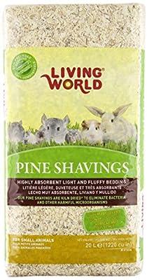 Living World Pine Shavings, 1220-Cubic Inch by Living World
