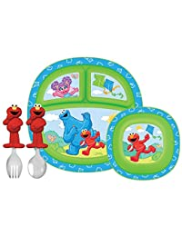 Munchkin Sesame Street Dining Set BOBEBE Online Baby Store From New York to Miami and Los Angeles