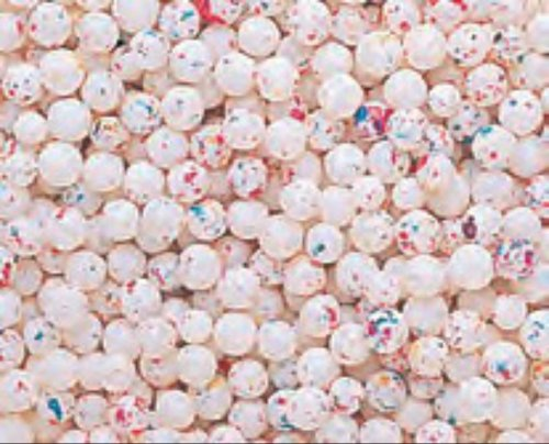 Micro Psychedelic White 1/4 Inch Jawbreakers 5LB Bag