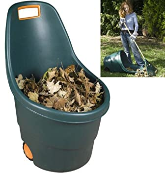Good Ideas Large Wheeled Garden Caddy Bin 55 litres Move garden