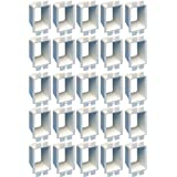Arlington Industries BE1-25 Electrical Outlet Box Extender, 1-Gang, 25-Pack, White