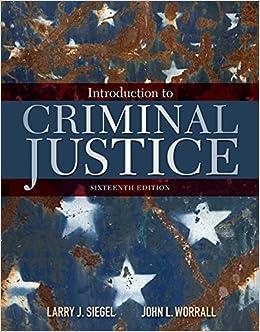 Libros Descargar Introduction To Criminal Justice PDF A Mobi
