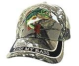 Kiss My Bass Hat - Funny Fishing Fisherman Gift