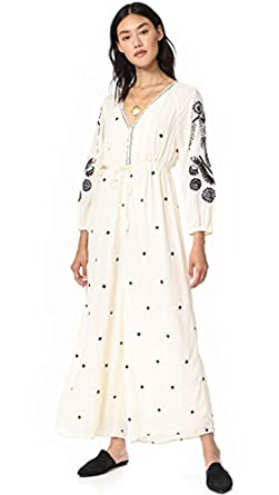 Amazon.com  Free People Womens Embroidered V Jumpsuit  Clothing 392a1ee811