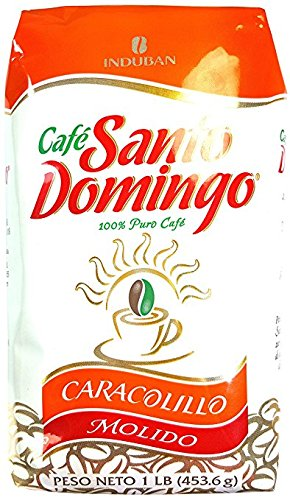 Santo Domingo Ground Coffee Cafe Caracolillo Exclusive Edition 1 Pound *NEW