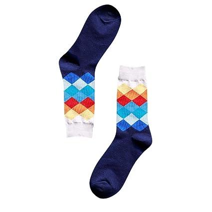calcetines termicos hombre Sannysis Calcetines de ventilación, Calcetines de algodón para hombres invierno deportes Cálidos