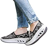 Clearance Sale Sneaker For Women,Farjing Women Fitness Shoes Casual Sport Shoes Mesh Shake Shoes Platform Sneaker(US:5,Camouflage )