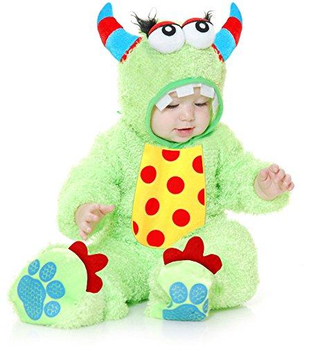 Little Lime Monster Baby Costume