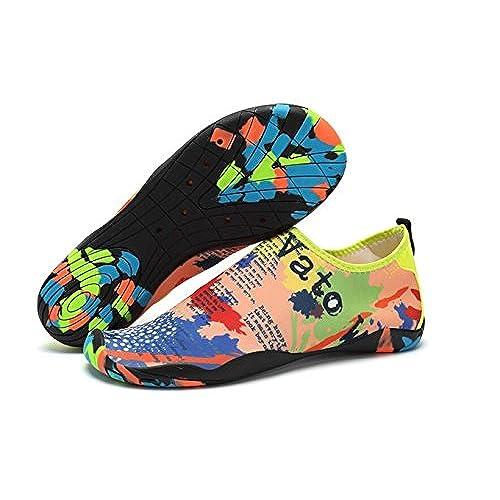 Barefoot Water ShoesAqua Socks Quick Dry Elastic Beach Diving Swim Shoes For Men and Women