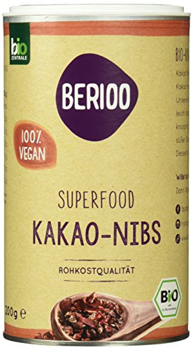Biozentrale Berioo Kakao Nibs, 2er Pack (2 x 200 g)