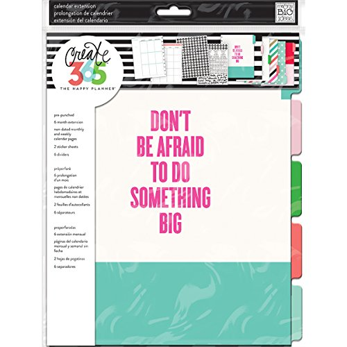 (Me & My Big Ideas The Happy Big Planner Edition, Month)