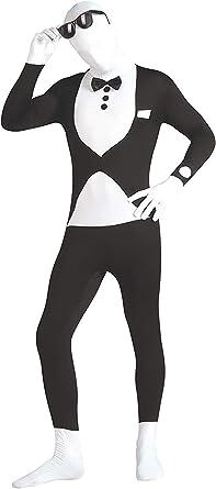 Taille L Noir Rubie/'s Officiel 2nd Deuxième Peau Costume Unisexe Neuf