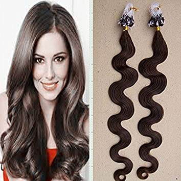 Amazon 24 inch virgin remy micro loop hair extensions wavy 24 inch virgin remy micro loop hair extensions wavy human hair 05gstrand 50g pmusecretfo Image collections