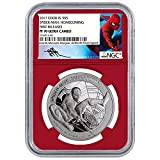 2017 CK Marvel Spider-Man Homecoming 1oz Proof Silver Coin First Releases Ultra Cameo $1 PF70 NGC