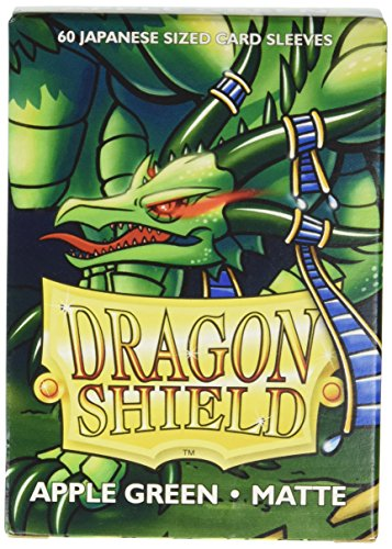 Green Apple Cards (Arcane Tinman Dragon Shield Sleeves Matte Japanese Apple Green (60) Card)
