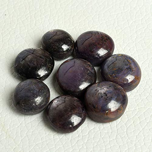 100% Natural Star Ruby 100.00 Ct Lot of 8 Pc Mix Shape Cabochon Gemstones BS-106