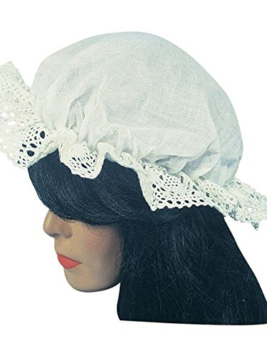 Kids Colonial Hat With Wig (Rubie's Costume Co Colonial Mob Cap Costume)