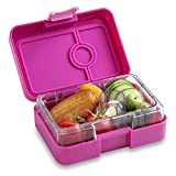 YUMBOX MiniSnack Leakproof Snack Box (Malibu Purple); Bento-style snack box offers Durable, Leak-proof, On-the-go Meal and Snack Packing