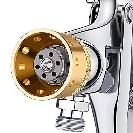 Nozzle Size: 2.5mm YJINGRUI 5 L, con pistola de pulverizaci/ón de pintura, 6 agujeros Bote a presi/ón de pintura