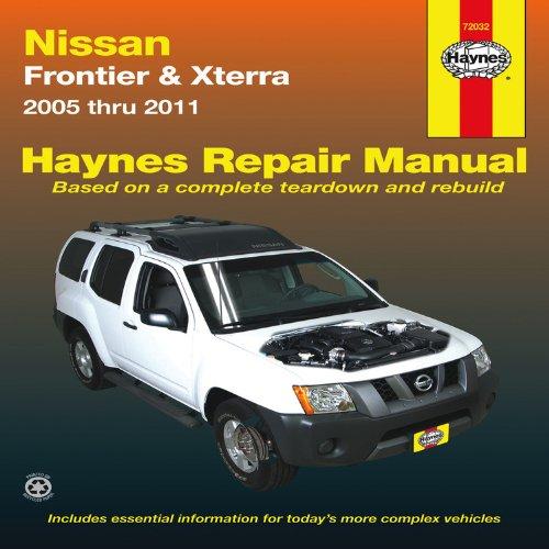 Nissan Frontier Xterra 2005 Thru 2011 Haynes Repair Manual