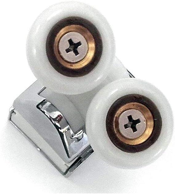 Rodamiento para Mamparas de ducha modelo tipo Metalkris (Pack de 4 ...