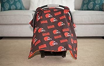 & Amazon.com: Cleveland Browns Minky Carseat Canopy NFL: Baby