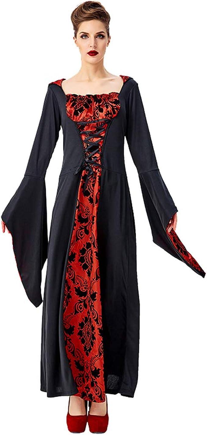 Disfraz Vampira Halloween Vampiresa Reina Cosplay Mujer Zombie ...
