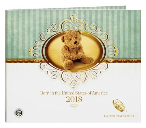 2018 S Birth Proof Coin Set Mint Packaged