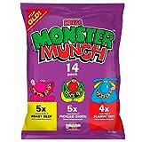 Monster Munch Variety Flavour Crisps Multipack 14 x 25g
