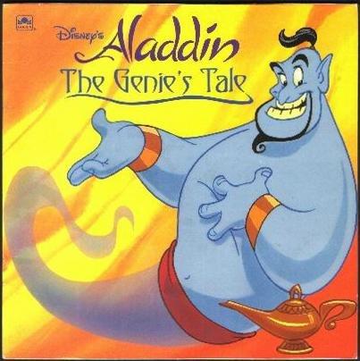 Disney's Aladdin: The Genie's Tale (Golden Books)