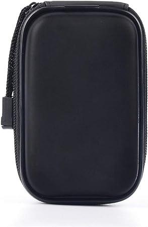 Auriculares Estuche Oxford bolsa de almacenamiento de tela auricular de Bluetooth de línea de datos móvil de la energía Negro Auriculares bolsa de almacenamiento multifuncional de alta capacidad Viaje: Amazon.es: Hogar