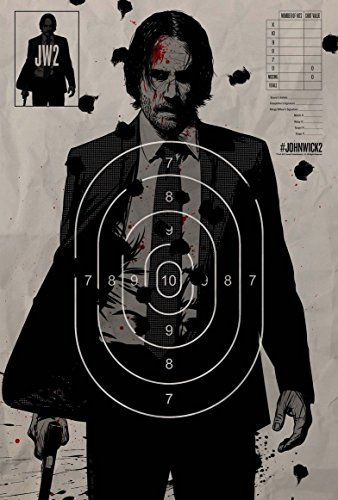 John Wick Chapter Two Movie Poster 18 x 28 Inches