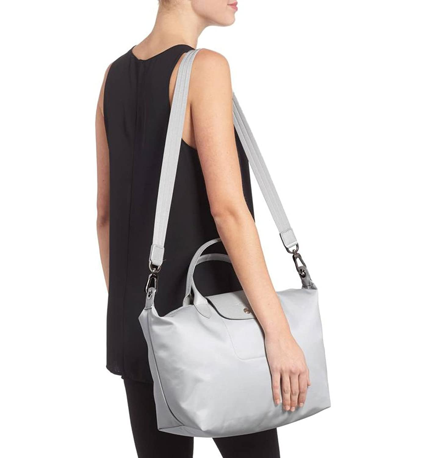 Longchamp Medium Le Pliage Neo Nylon Tote Top Handle Lc030 Longchample The City Shoulder Bag Silver Shoes