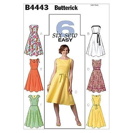 Butterick B4443 - Cartamodello per abito donna f8f8568e0c2