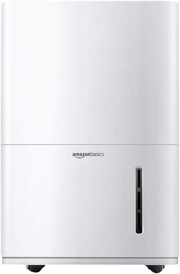 AmazonBasics Dehumidifier 50-Pint
