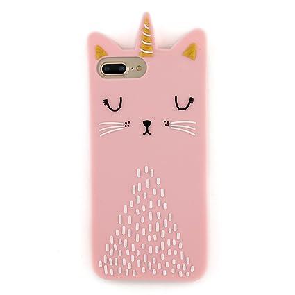Amazon.com: iPhone 8 plus funda, carcasa iPhone 7 Plus Case ...