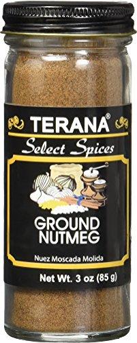 Terana Ground Nutmeg, 3 Ounce by Terana