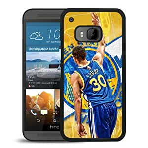 Popular Custom Designed Case For HTC ONE M9 With Stephen Curry 1 Black Phone Case