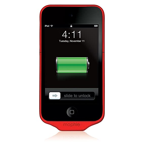 promo code 56a19 7ae67 Amazon.com: mophie Juice Pack Air Case and 1000 mAh Rechargable ...
