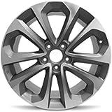 Road Ready Car Wheel for 2013-2015 Honda Accord 18 inch 5 Lug Grey Machine Face Aluminum Rim Fits R18 Tire - Exact OEM…