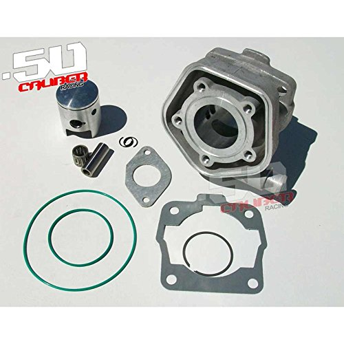 50 Caliber Racing Water Cooled Top End Cylinder Kit KTM 50 SX Mini Junior Senior LC 2002-2008 [4449A10] (Ktm Mini Kit)