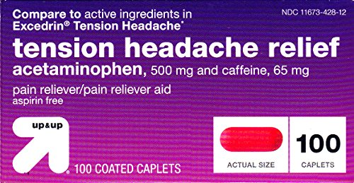 Tension Headache Relief 100ct, By Up&Up, Compare to Excedrin Tension ()