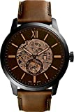 Fossil Townsman Automatic Men's Leather Watch ME3155