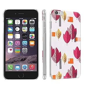 Skinguardz Iphone 6 Plus (5.5) (Red Nature) Ultra Slim Light Weight Plastic Cover Case