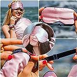 LilySilk Silk Sleep Mask & Blindfold, 100 Natural