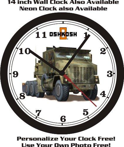- OSHKOSH MILITARY TRUCK WALL CLOCK-FREE USA SHIP!